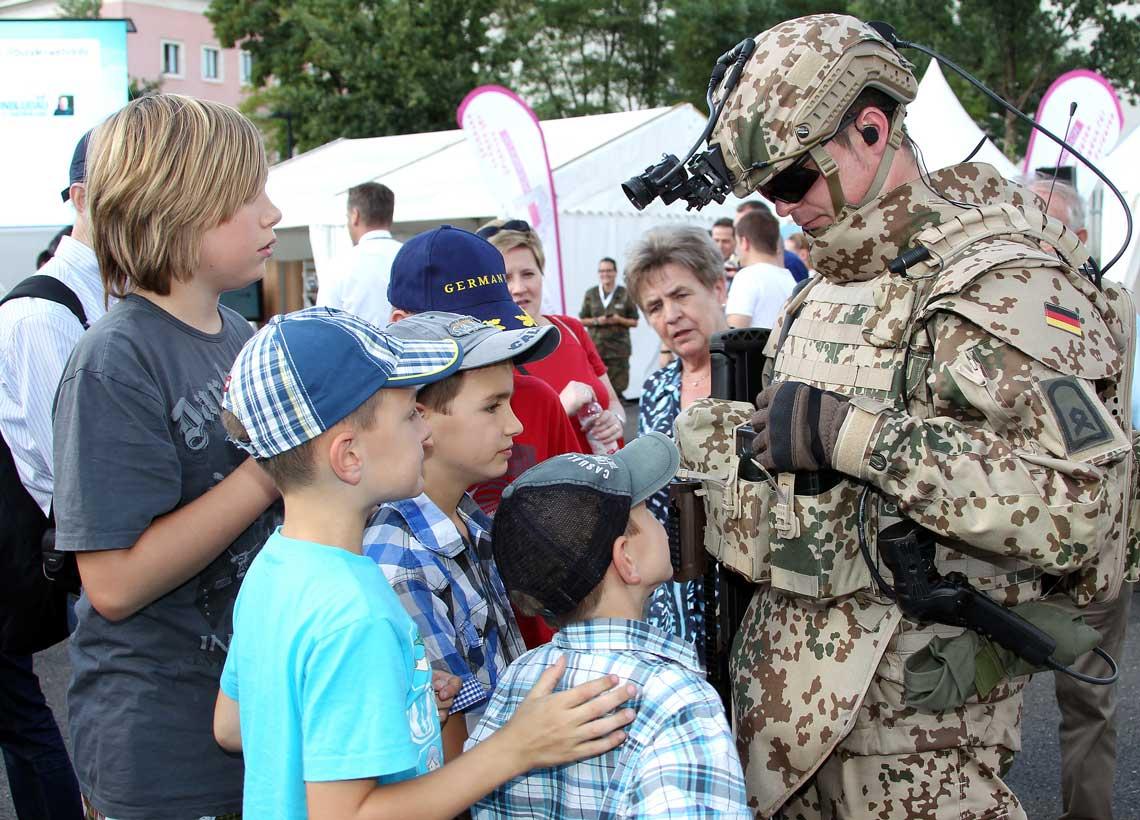 Kinder Bundeswehr