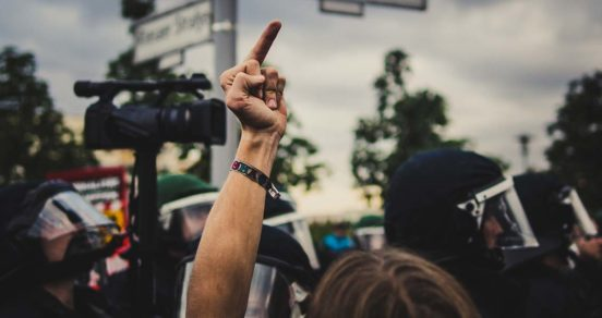 npd verbot demonstration