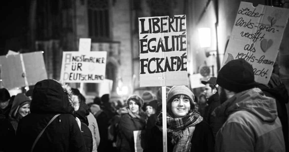 münster protest gegen afd