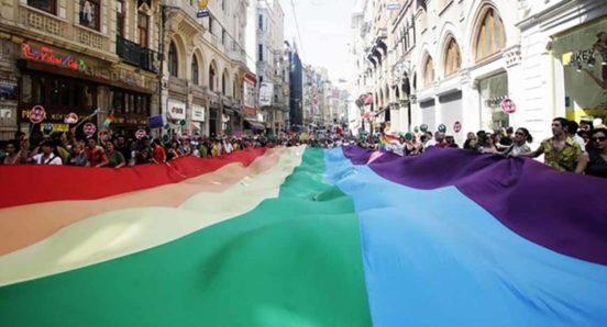 Istanbul LGBTI Protest