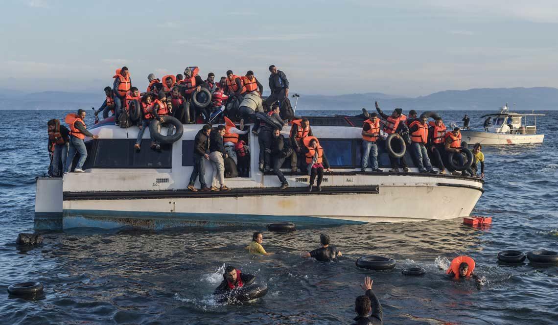 Flüchtlingsboot