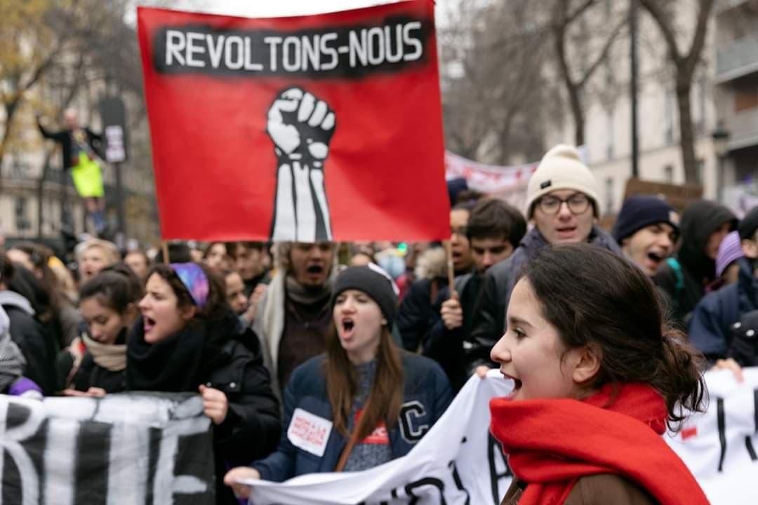 Frankreich, Generalstreik, Rentenreform